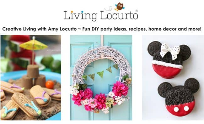 Social media Influencer Amy Locurto from Living Locurto. DIY Lifestyle Food Blogger from Texas