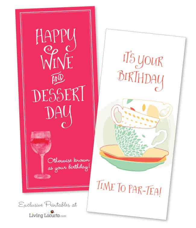 Get Printables Each Month! Join the Living Locurto Fun Club for access to the best printables! Birthday cards and more!